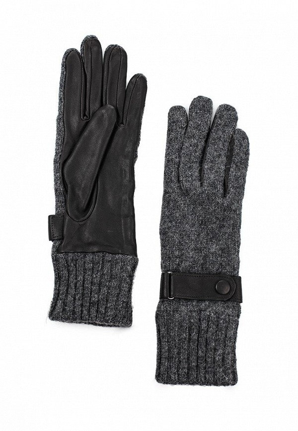 Женские перчатки Labbra LB-02070L/black/grey