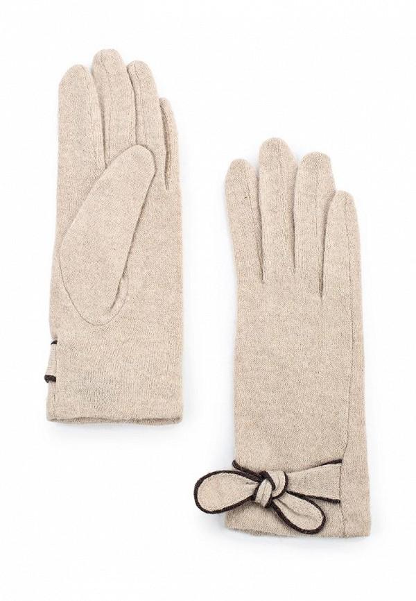 Женские перчатки Labbra LB-PH-49 beige/brown