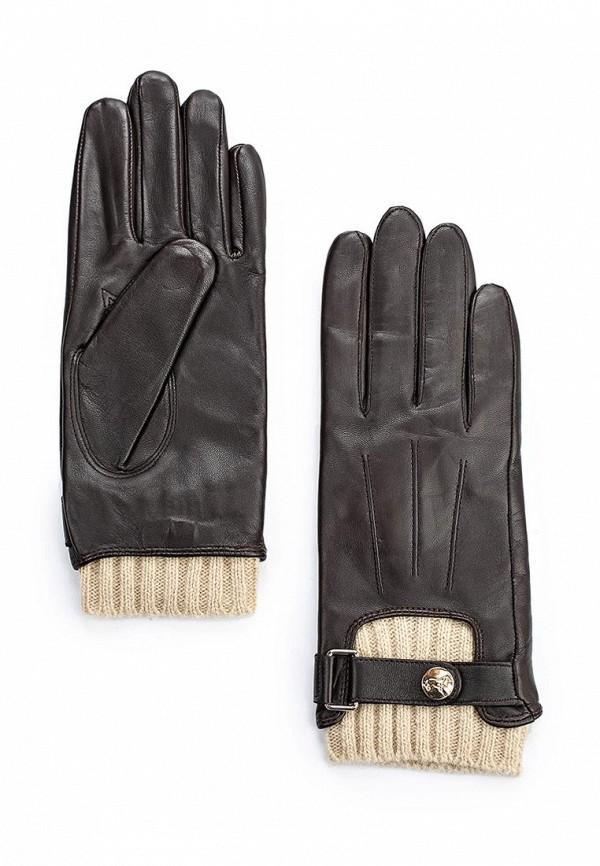 Женские перчатки Labbra LB-0981L brown/beige
