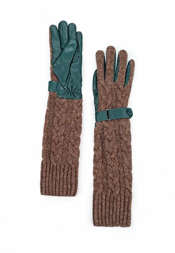 Перчатки Labbra LB-02073 d.green/brown
