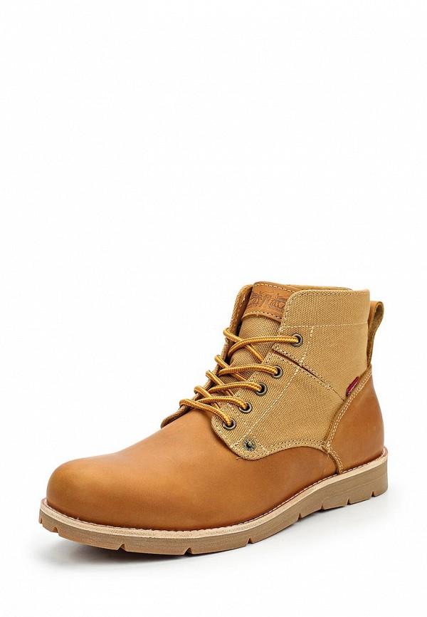 Купить Ботинки Levi's®, JAX, LE306AMXKZ32, коричневый, Осень-зима 2017/2018