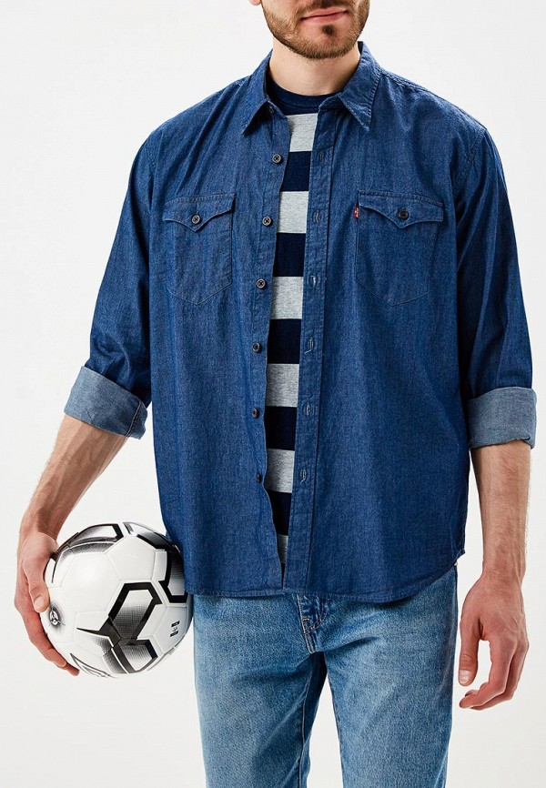 Купить Рубашка джинсовая Levi's®, LE306EMBPJM3, синий, Осень-зима 2018/2019
