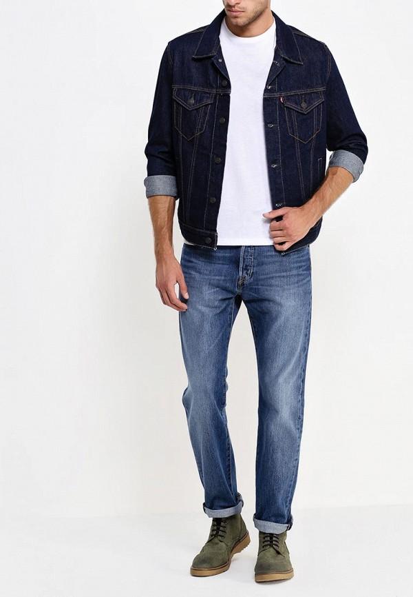 Куртка джинсовая Levi's® Levi's® LE306EMFTC09 le sentier куртка