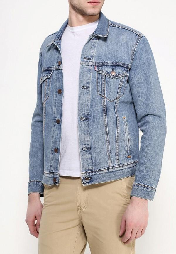 Куртка джинсовая Levi's® Levi's® LE306EMHKR65 le sentier куртка