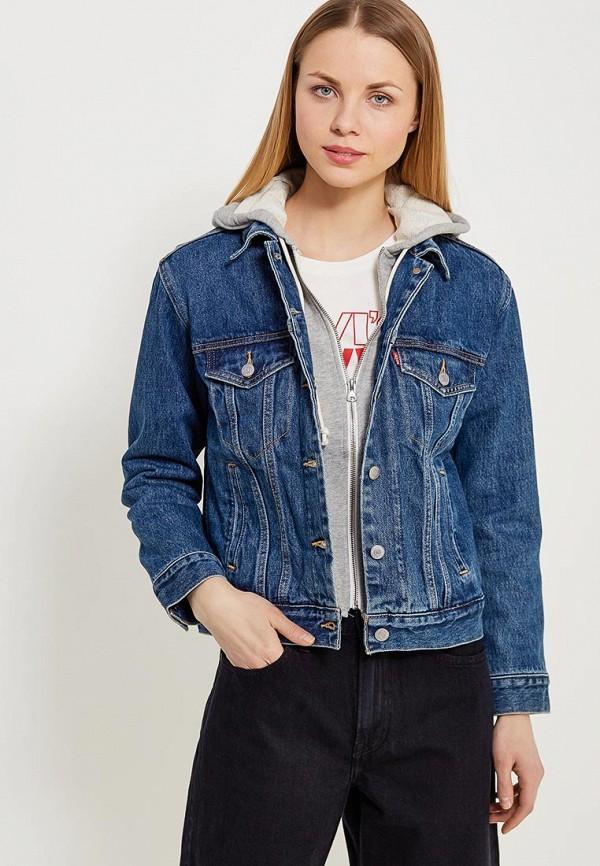 Куртка джинсовая Levi's® Levi's® LE306EWAFZU1 le sentier куртка