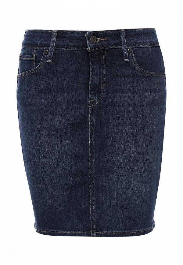 Юбка джинсовая Levi's® Levi's® LE306EWJVO69 jijil le bleu джинсовая юбка