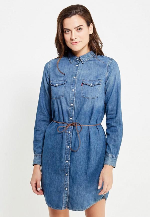 Платье джинсовое Levi's® Levi's® LE306EWJVO80 джинсовое платье