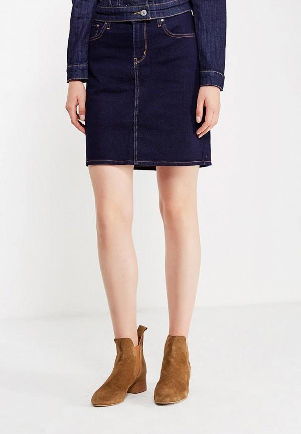 Юбка джинсовая Levi's® Levi's® LE306EWPIV99 jijil le bleu джинсовая юбка