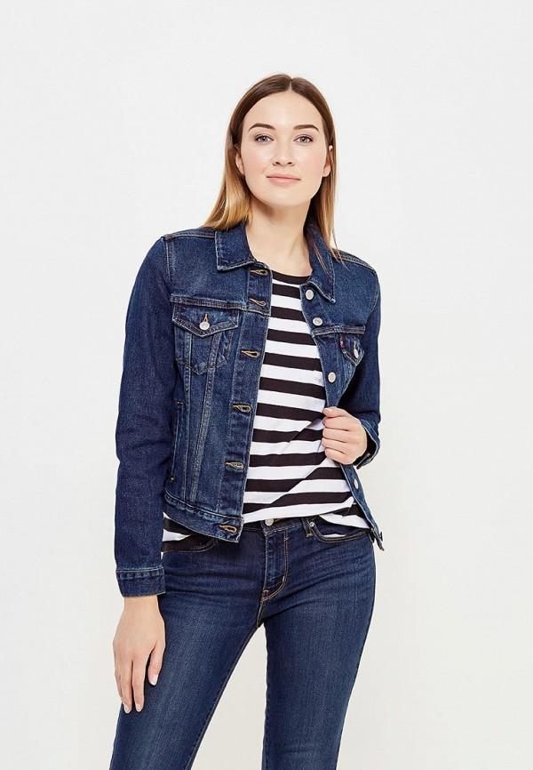 Куртка джинсовая Levi's® Levi's® LE306EWUMG22 le mont st michel джинсовая верхняя одежда