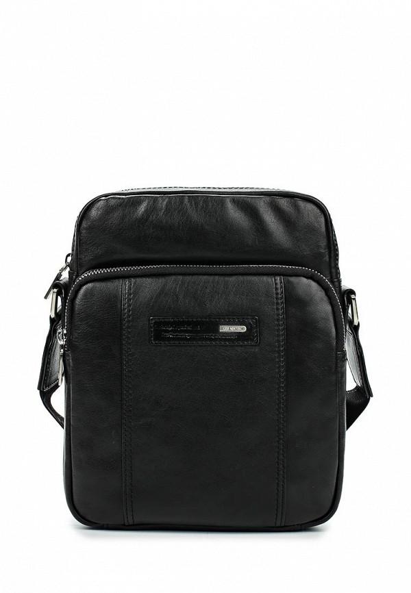 Кожаная сумка Leo Ventoni 03002251-nero