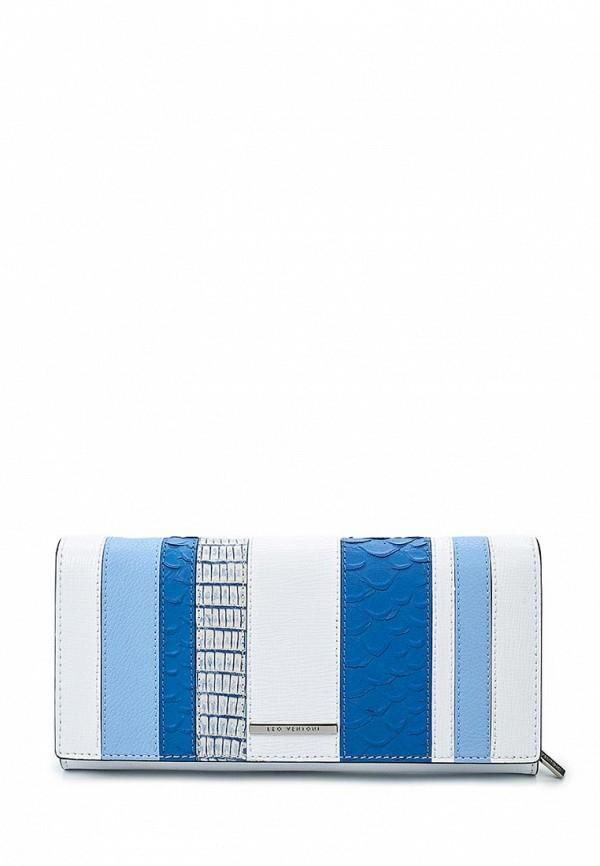 Кошелек Leo Ventoni L330985-blue/bianco