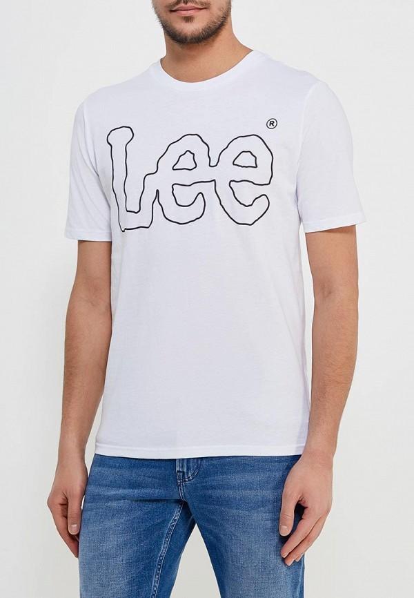 цена Футболка Lee Lee LE807EMAKSZ4 онлайн в 2017 году