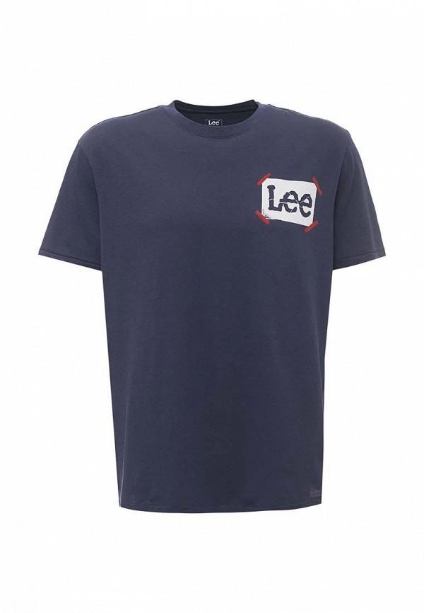 Футболка Lee Lee LE807EMXVM38 ветровка lee lee le807emqto58