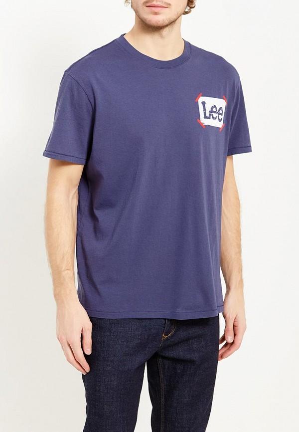 Футболка Lee Lee LE807EMXVM38 футболка lee lee le807ewqto89