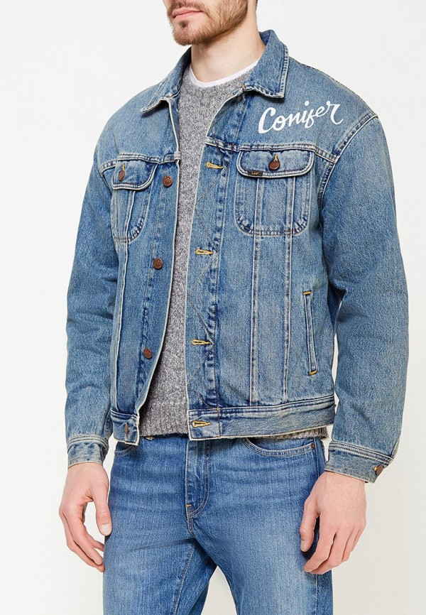 Куртка джинсовая Lee, LE807EMXVM44, голубой, Весна-лето 2018  - купить