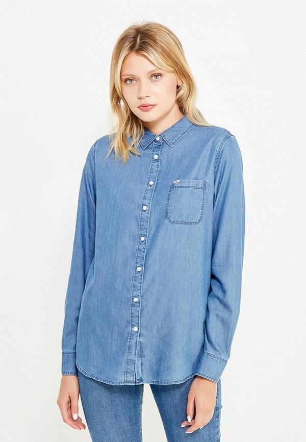 Рубашка джинсовая Lee Lee LE807EWVGX90 ветровка lee lee le807emqto58