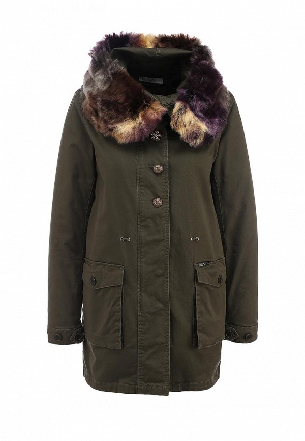 Утепленная куртка Liu Jo Jeans F65138T781590506