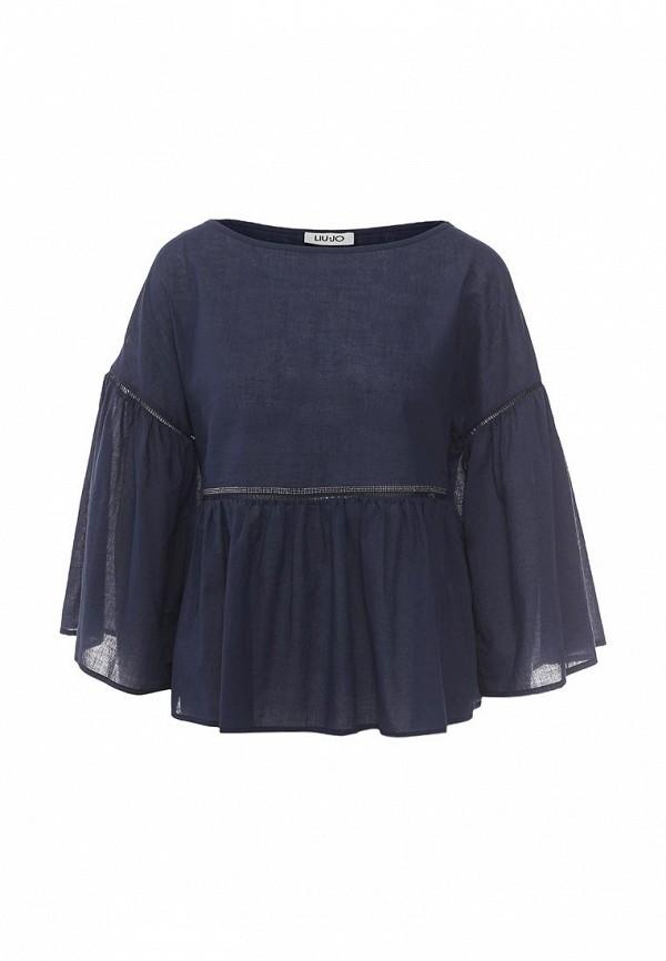 Блуза Liu Jo Jeans Liu Jo Jeans LI003EWOPX86 блуза liu jo jeans liu jo jeans li003ewopx86