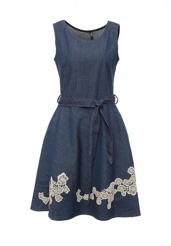 Платье джинсовое Liu Jo Jeans Liu Jo Jeans LI003EWOPY17 платье liu jo jeans liu jo jeans li003ewudu86