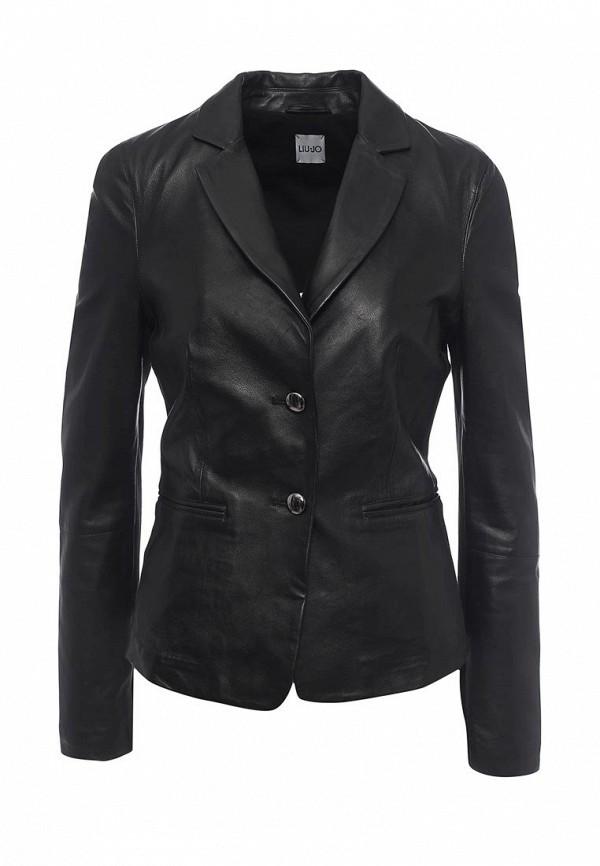 Куртка кожаная Liu Jo Jeans W17001 P0268