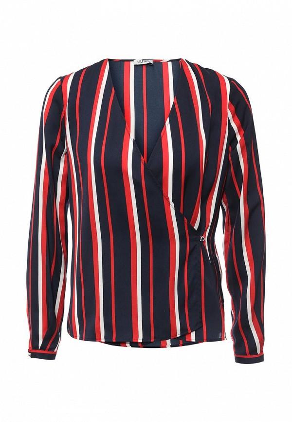 Блуза Liu Jo Jeans Liu Jo Jeans LI003EWOQF21 блуза liu jo jeans liu jo jeans li003ewopx86