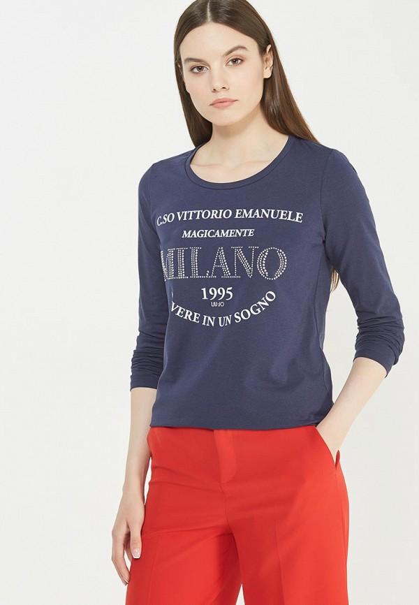 Лонгслив Liu Jo Jeans Liu Jo Jeans LI003EWUEB67 liu jo jeans liu jo jeans w16074f0524 03t60
