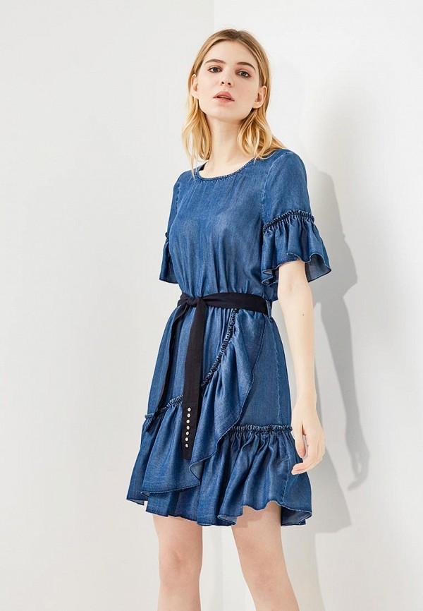 Платье джинсовое Liu Jo Jeans Liu Jo Jeans LI003EWZHF12