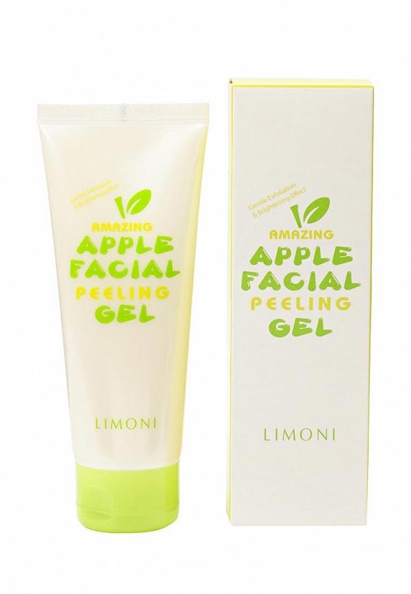 Гель-пилинг, Limoni, для лица яблочный 150 мл