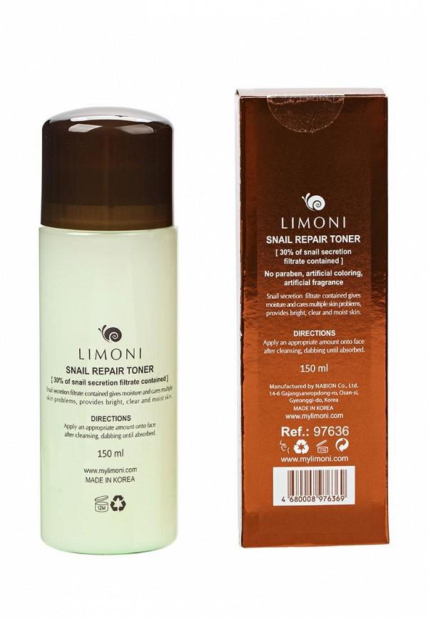 Тоник Limoni восстанавливающий с экстрактом секреции улитки, 150 мл.