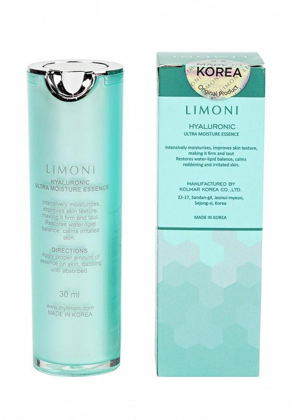 Эссенция Limoni ультраувлажняющая для лица с гиалуроновой кислотой Hyaluronic Ultra Moisture Essence 30 мл