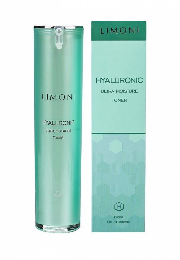 Тонер Limoni Ультраувлажняющий с гиалуроновой кислотой