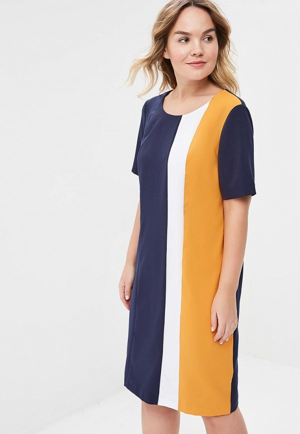 Платье Lina Lina LI029EWASCX8 lina бабетта синий