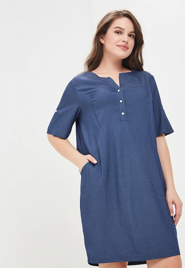 Платье Lina Lina LI029EWBGCG3 lina бабетта синий