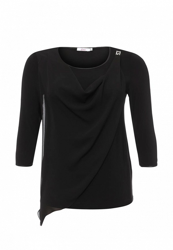 Блуза Lina Lina LI029EWPHI49 lina лина lina солнце черный