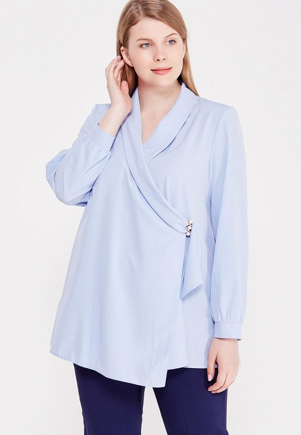 Блуза Lina Lina LI029EWWDA83 lina лина женская lina валентина вискоза голубой