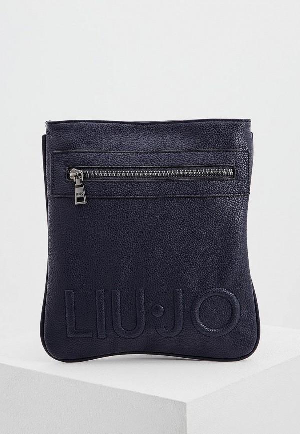 Купить Сумка Liu Jo Uomo, LI030BMAIMA0, синий, Весна-лето 2018