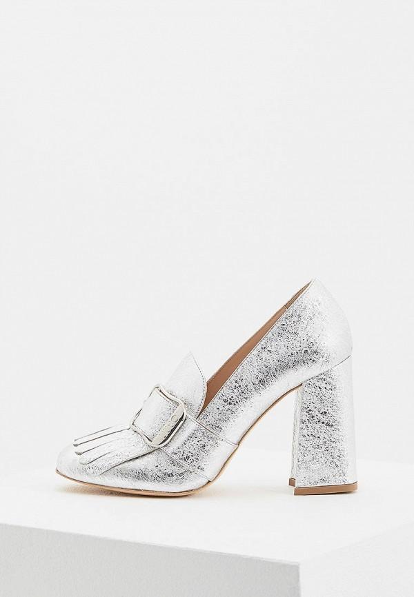 Фото - женские туфли Liu Jo серебрянного цвета