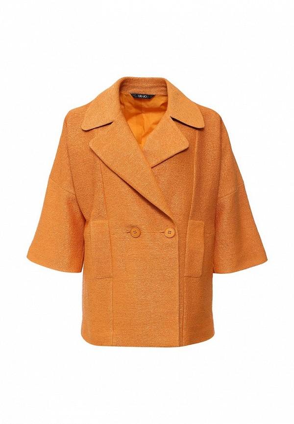 Пальто Liu Jo Liu Jo LI687EWGZW46 футболка liu jo цвет оранжевый