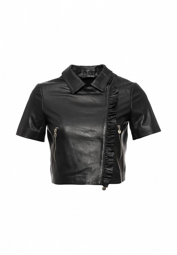 Кожаная куртка Liu Jo (Лиу Джо) P16001P0190