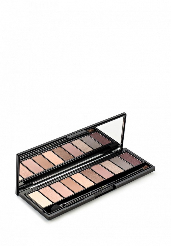 Здесь можно купить теней для глаз Nude, Color Riche оттенок 002 Rose 10 оттенков  Палетка L