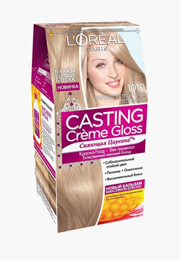 Купить Краска для волос L'Oreal Paris, Casting Creme Gloss, 1010 Светло-светло-русо-пепельный, LO006LWIIW94, Весна-лето 2018