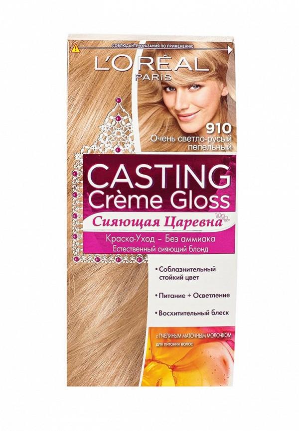 Дополнительный уход L'Oreal Paris Casting Creme Gloss, 910 Очень светло-русый пепельный