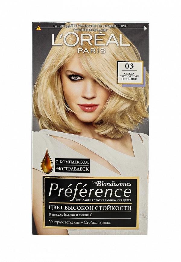 Краска для волос лореаль преферанс русый