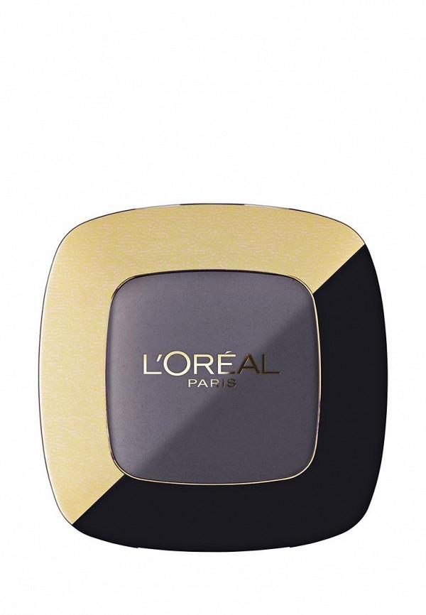 Декоративная косметика LOreal Paris для век Color Riche Matte моно, матовая текстура, стойкие, оттенок 101, Дымчатый кварц, 3,6 мл