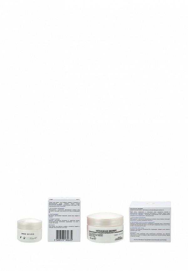Набор L'Oreal Paris Увлажнение Эксперт для нормальной и смешанной кожи, 50 мл, Крем для области вокруг глаз Увлажнение Эксперт увлажняющий, 15 мл