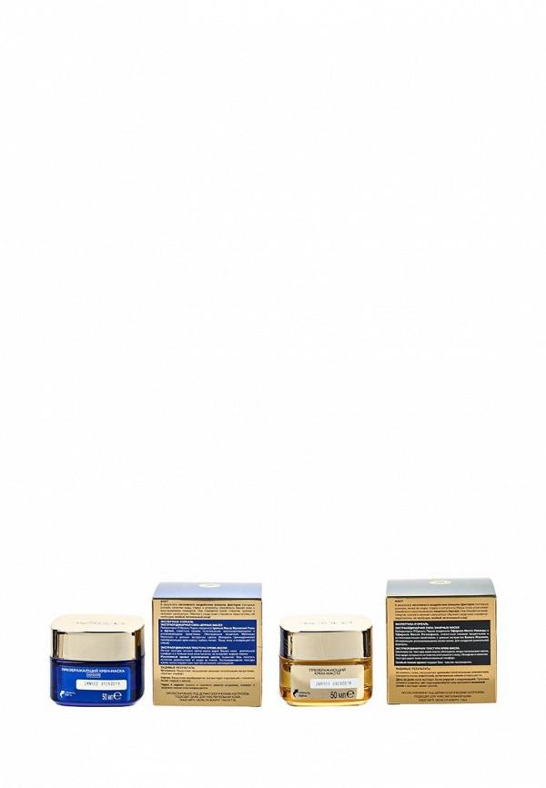 Набор LOreal Paris Роскошь Питания экстраординарный, 50 мл + Ночной преображающий крем-маска для лица Роскошь Питания, Экстраординарное Масло, для всех типов кожи, 50 мл