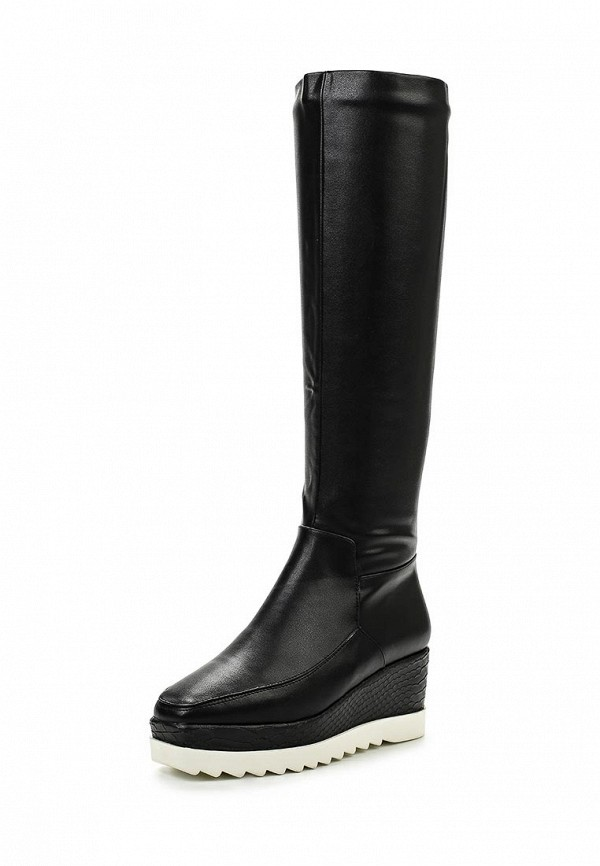 Сапоги LOST INK CLEATED SOLE SNAKE WEDGE SPORTS MID-HEIGHT BOOT