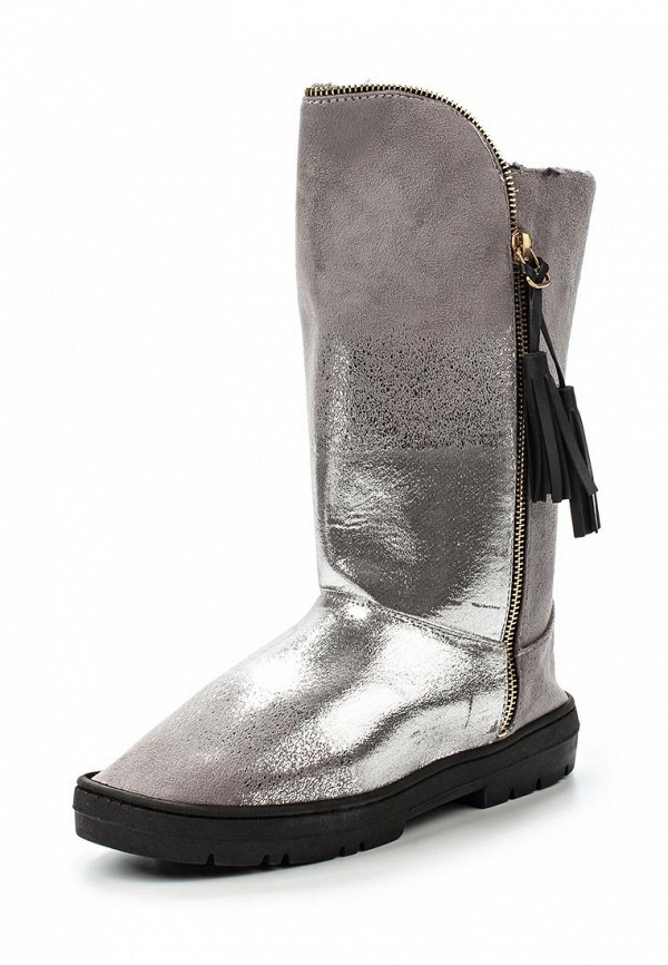 Угги LOST INK UMBER TASSLE TRIM FAUX FUR BOOT GREY-SILVER