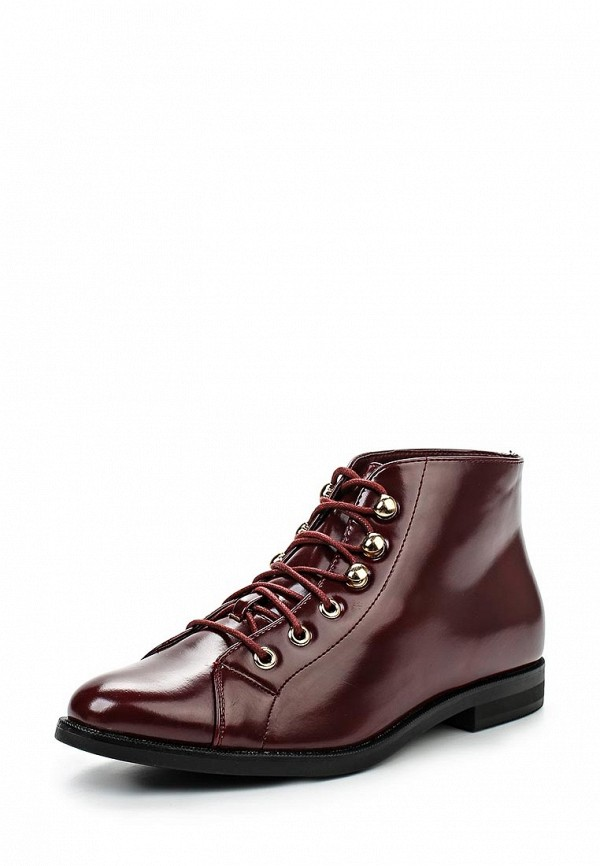 Ботинки LOST INK EYELET ANKLE BOOT OXBLOOD