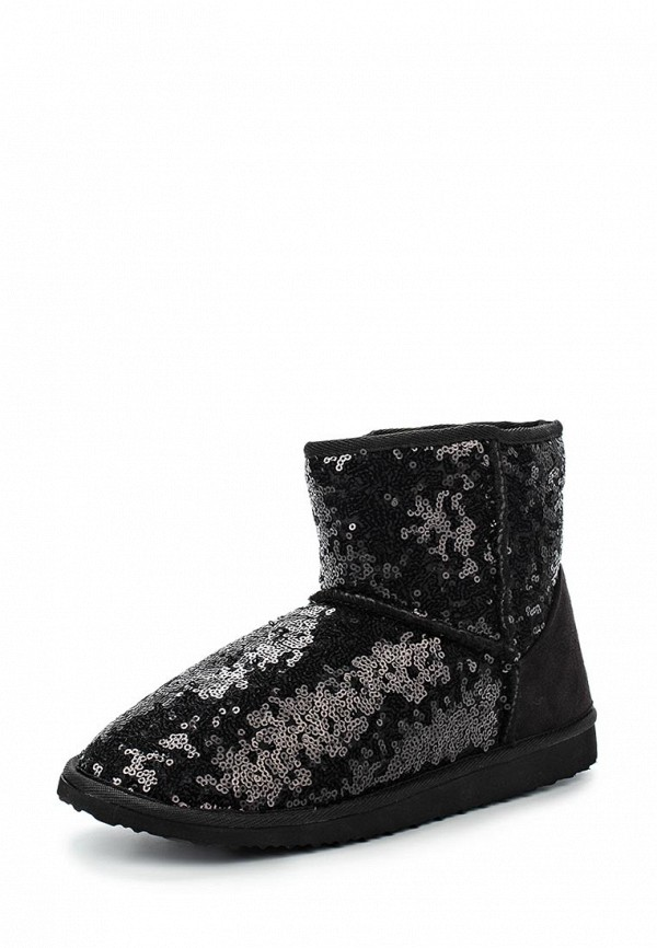 Угги LOST INK UYENCE TEXTURE ANKLE FAUX FUR BOOT - SEQUIN